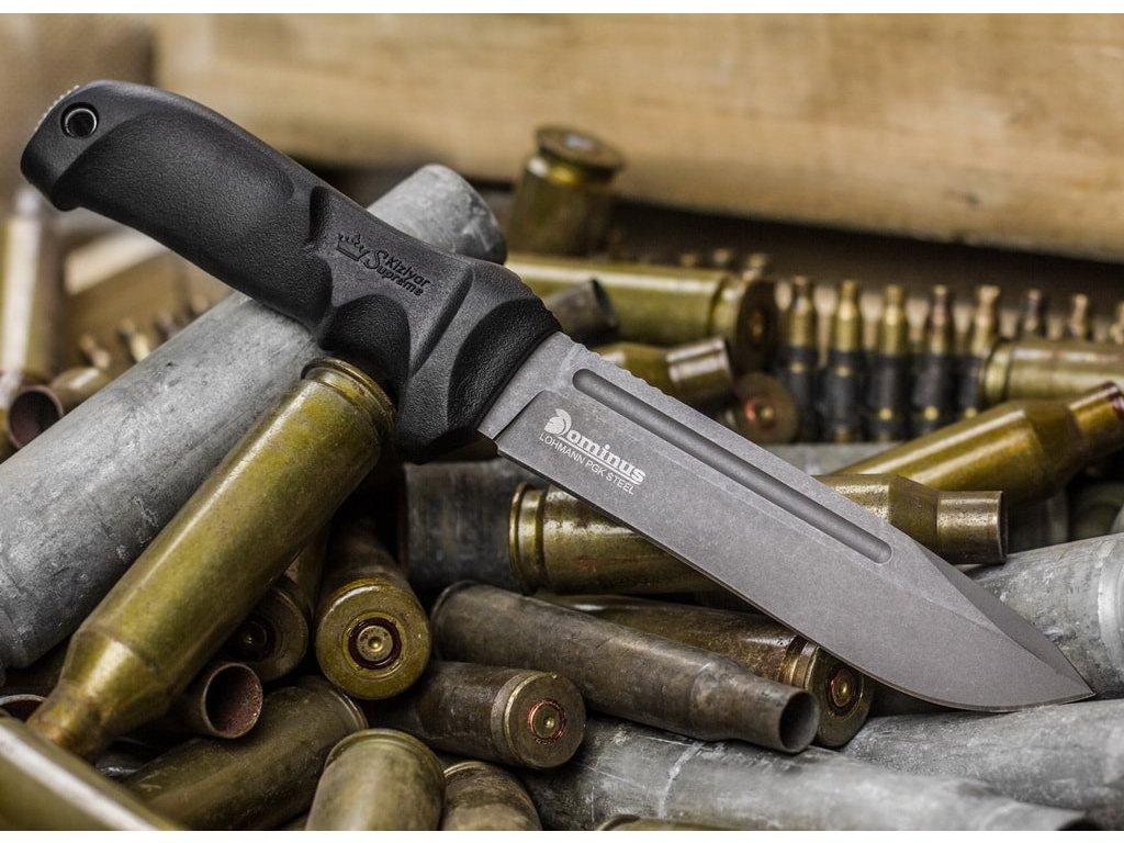 Nůž Kizlyar Supreme Dominus Lohmann PGK TacWash