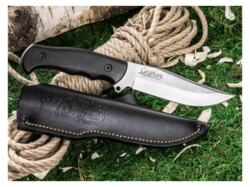 Nůž Kizlyar Supreme Caspian D2 LSW Carpinus