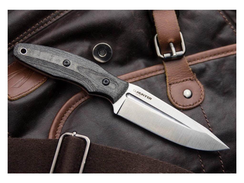 Nůž Kizlyar Supreme City Hunter AUS-8 LSW Micarta