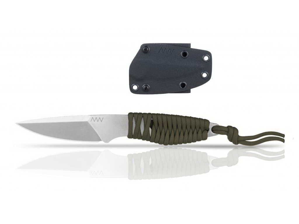 Nůž ANV P100 - KYDEX SHEATH BLACK/OD GREEN
