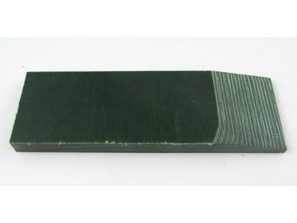 Micarta Hunters Green Canvas Small