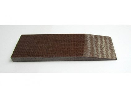 Micarta Brown Beige Jute Small