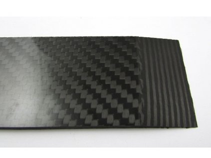 Carbon Fiber Laminate - 3,3x40x120 mm