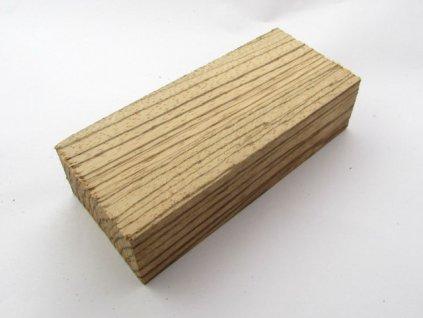 Dřevo Zebrawood