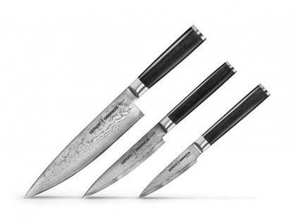 Sada Kuchyňských Nožů Samura Damascus
