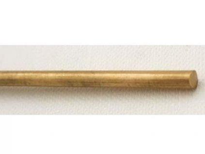 Mosazná kulatina 4x200 mm
