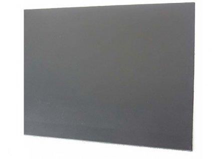 Španělská kůže černá 2,5 mm / 20 x 10 cm
