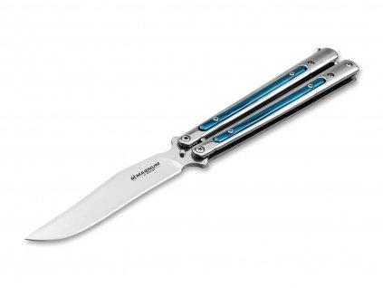 Nůž Böker Magnum Balisong Blue