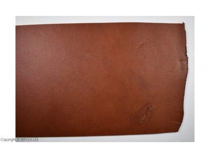 Kůže - losí, hnědá 2,5 - 3,5 mm / 20 x 20 cm