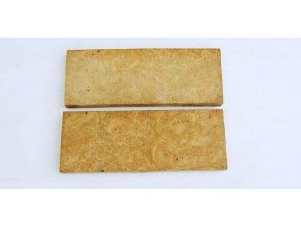Dřevo Olše kořen - Alder root Scales 2 ks