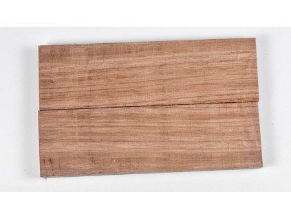 Dřevo Purpleheart - Scales 2ks