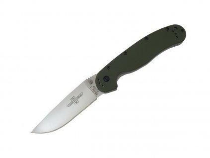 Nůž Ontario RAT I AUS-8 Foliage Green ON8874TC