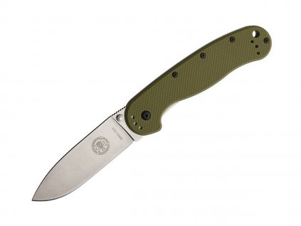 Nůž ESEE Avispa AUS-8 Olive Drab - Stonewash