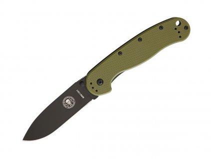 Nůž ESEE Avispa AUS-8 Olive Drab - Black