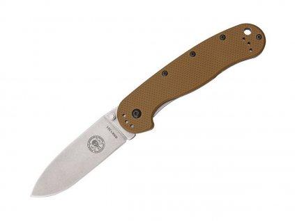 Nůž ESEE Avispa D2 Coyote Brown - Stonewash