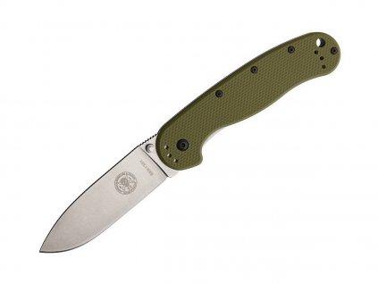 Nůž ESEE Avispa D2 Olive Drab - Stonewash