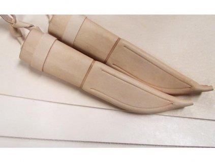 Leštená kůže 2 -2,2mm / 20 x 20 cm