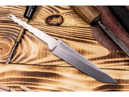 Čepel na nůž Kizlyar Supreme Malamute Niolox Stonewash