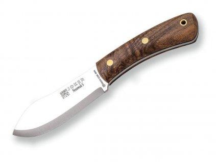 Nůž Joker Nessmuk Scandi CN132 Orech, Sandvik 14C28N