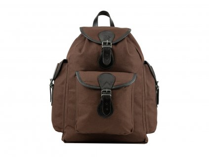 Batoh Jack Pyke of England Canvas Day Pack Hnědý