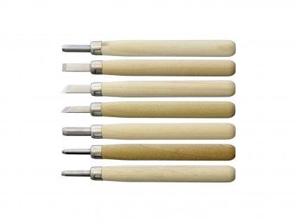 Sada řezbářských nožů Yoshiharu L-7