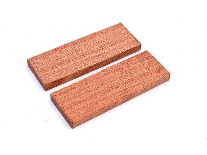 Dřevo Bloodwood Příložky 2 ks
