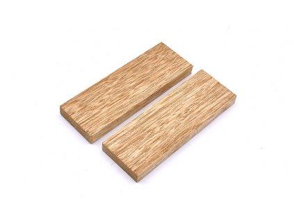 Dřevo Black Limba Příložky 2 ks