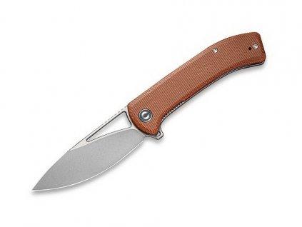 Nůž Civivi Riffle C2024A Brown Micarta