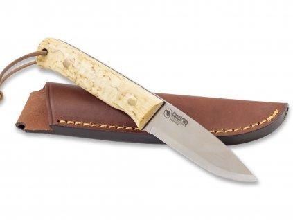 Nůž Casström Woodsman Curly Birch