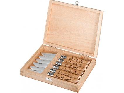 Kolekce nožů Opinel Inox so zvieracími motívmi (6ks.)