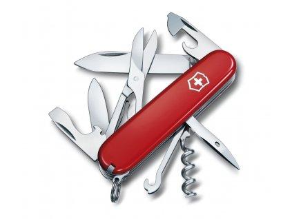 Nůž Victorinox Climber červený