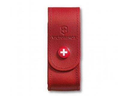 Pouzdro na Nůž Victorinox kožené červené