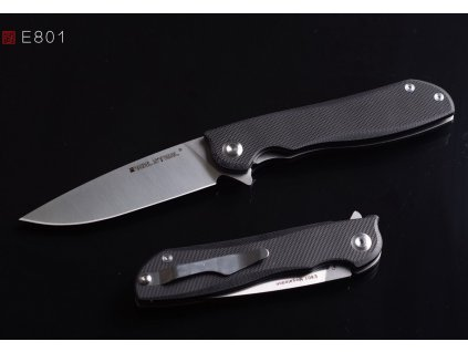 Nůž Real Steel E801 Megalodon G10 Black