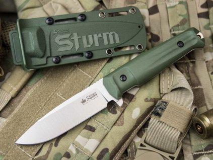 Nůž Kizlyar Supreme Sturm Aus8 S ODS ODH