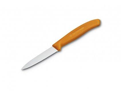 Kuchyňský nůž Victorinox 6.7636.L119 Swiss Classic na zeleninu Zoubkovaný 8 cm