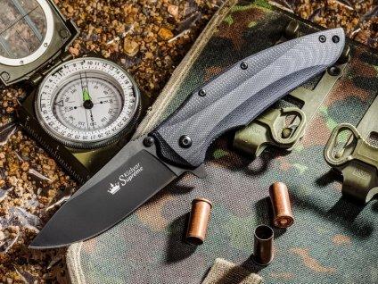 Nůž Kizlyar Supreme Zedd AUS-8 BT