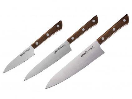 Sada Kuchyňských nožů Samura Harakiri SHR-0220WO