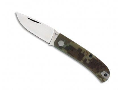 Nůž Manly Wasp Desert Camo CPM S90V