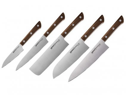 Sada Kuchyňských nožů Samura Harakiri SHR-0250WO