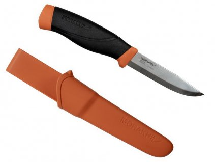Nůž Morakniv Companion Heavy Duty (S) Burnt Orange