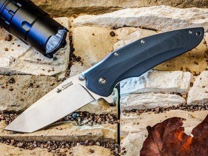 Nůž Kizlyar Supreme Zorg AUS-8 S Gray