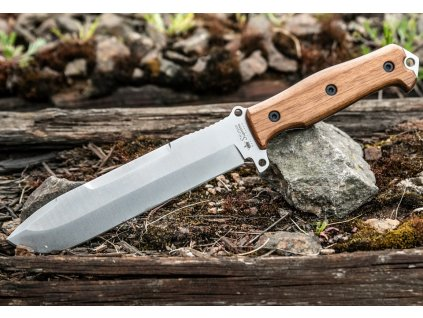Nůž Kizlyar Supreme Survivalist X AUS-8 LSW Walnut