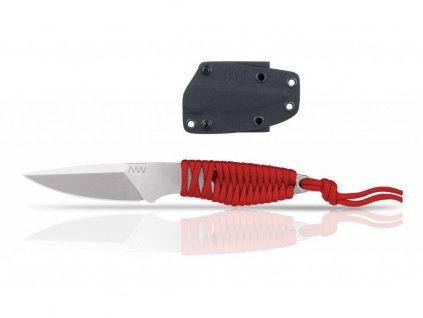 Nůž ANV P100 - KYDEX SHEATH BLACK/ANV RED