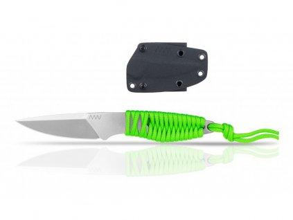Nůž ANV P100 - KYDEX SHEATH BLACK/ZOMBIE GREEN