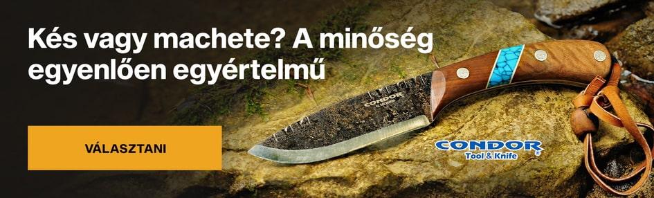Kések, macséta Condor Tool & Knife