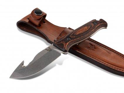 noz Benchmade Saddle Mountain Skinner Gut Hook 15004 01a