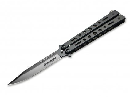 Böker Magnum Balisong All Black