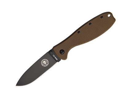 ESEE Zancudo D2 Coyote Brown - Black