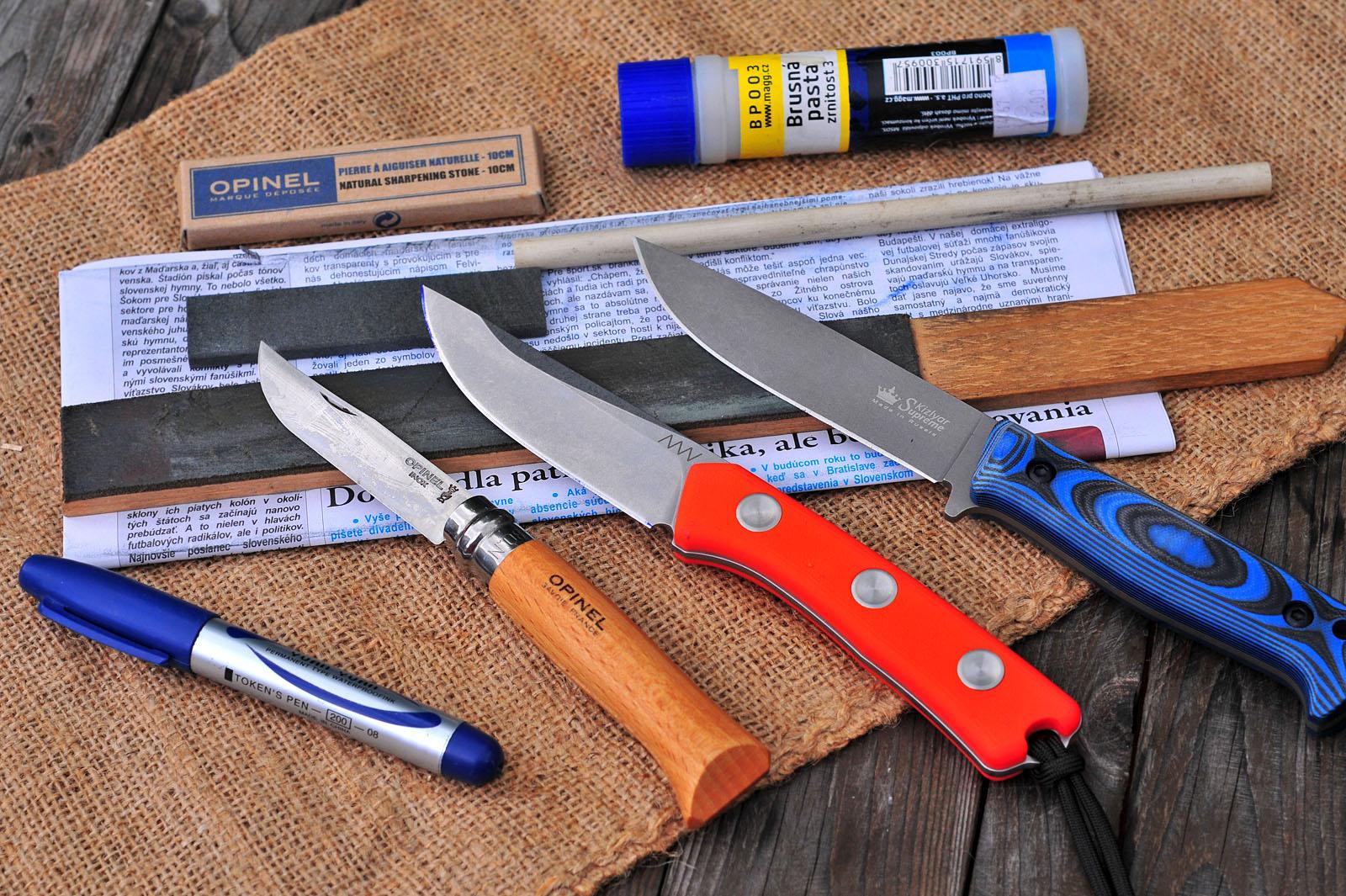 Škôlka brúsenia nožov