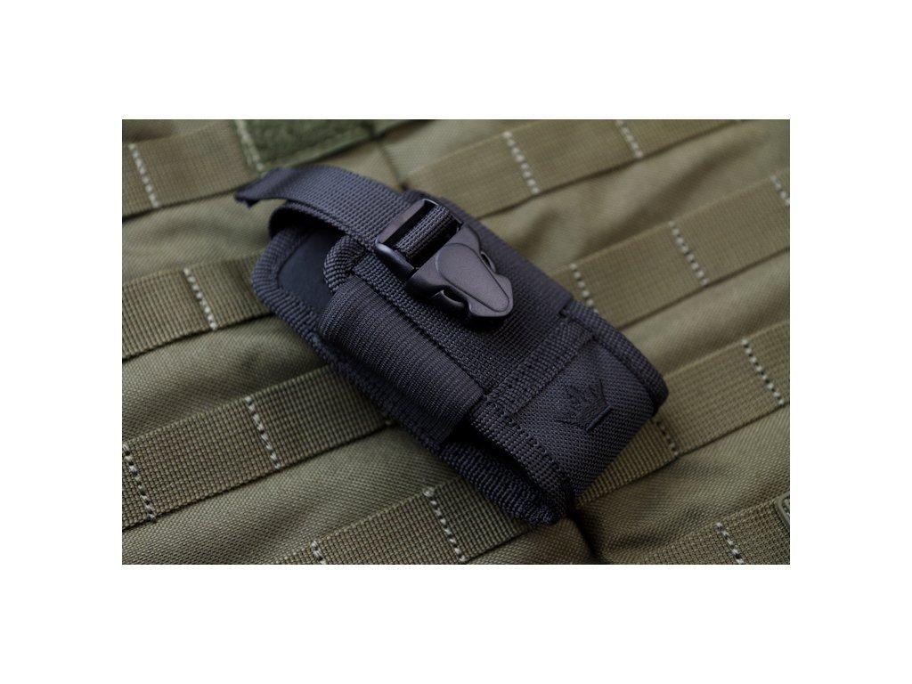 Puzdro Kizlyar Supreme AMP3 čierne nylonové